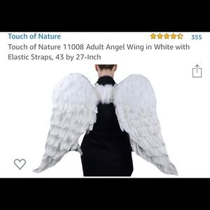 Adult Costume Angel Wings with Halo